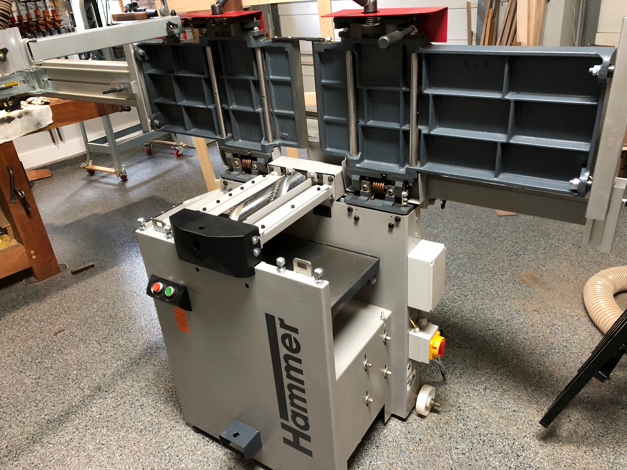 Selling my Hammer A3-31 Planer Jointer