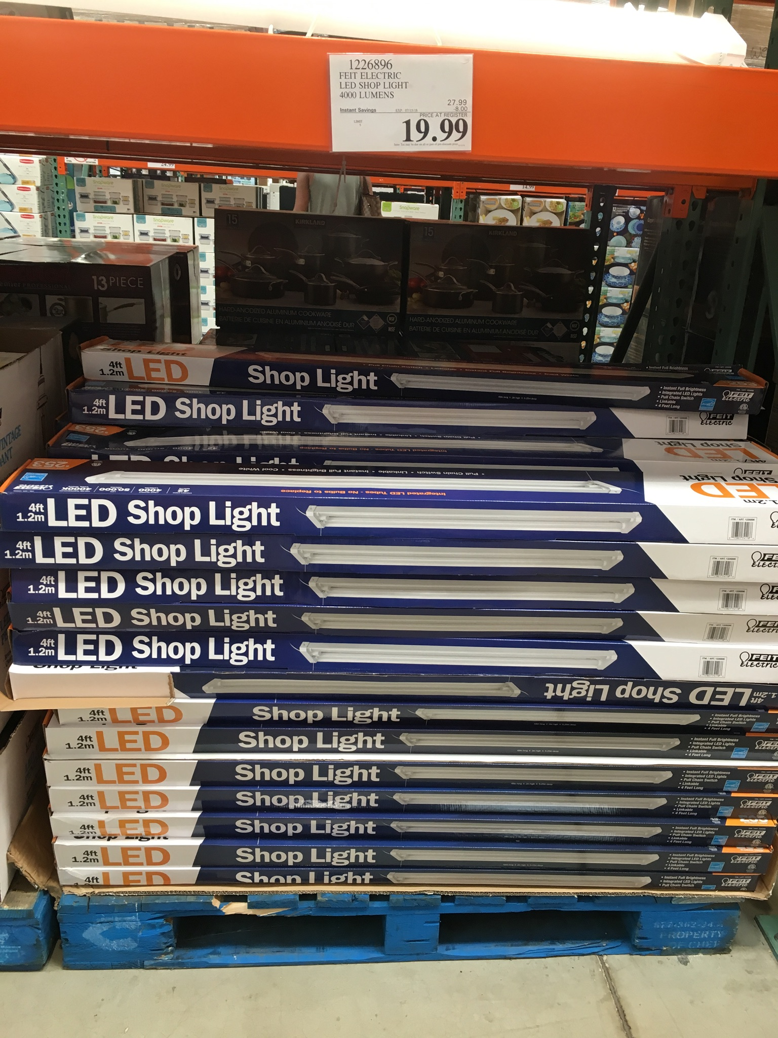 official photos c2285 b4084 LED Shop Lights on Sale at Costco