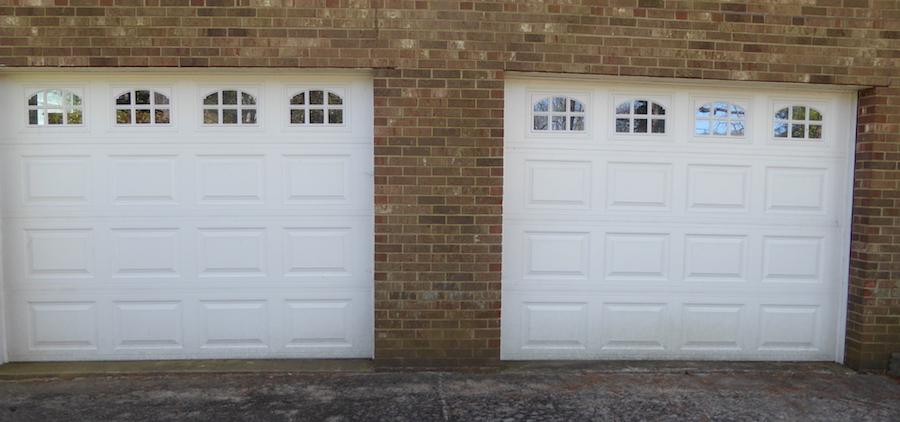 Garage Doors Concrete Gaps Repair Options