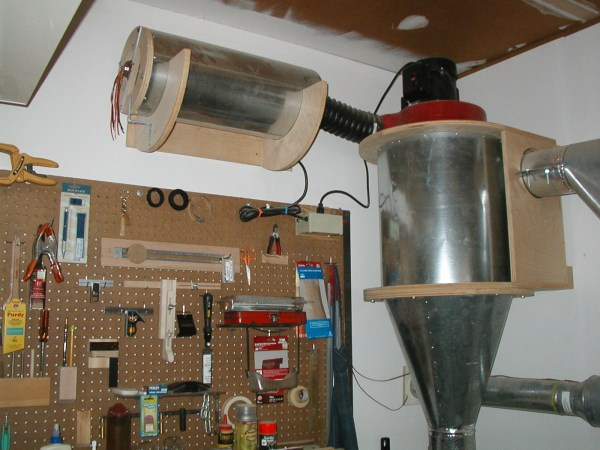 Simple Dust Collector Upgrade
