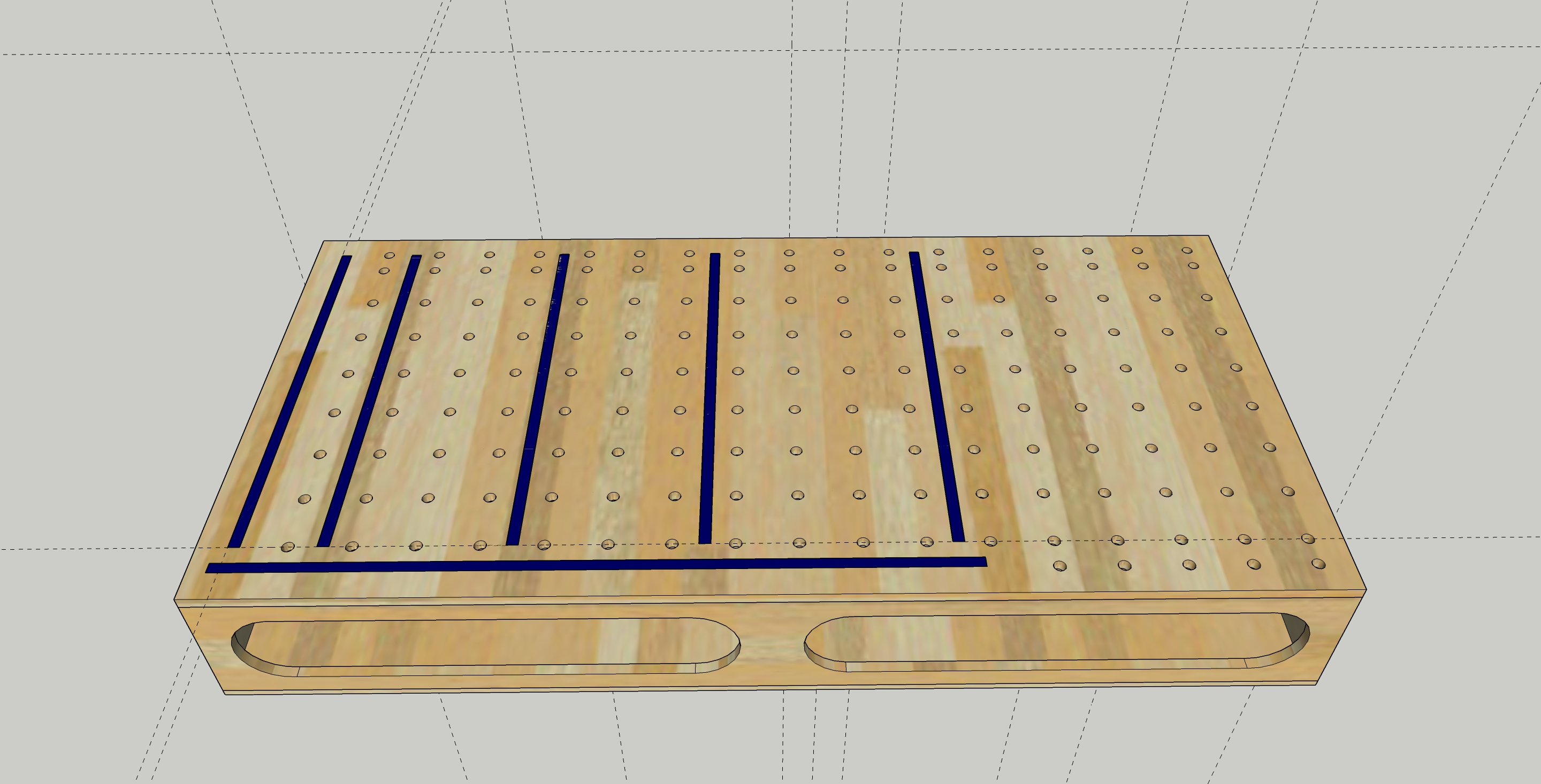 Outfeed Table Design Help T Track Vs Dog Holes